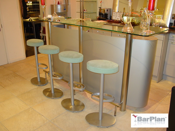 BarPlan Bespoke Cocktail Bar Medium Front