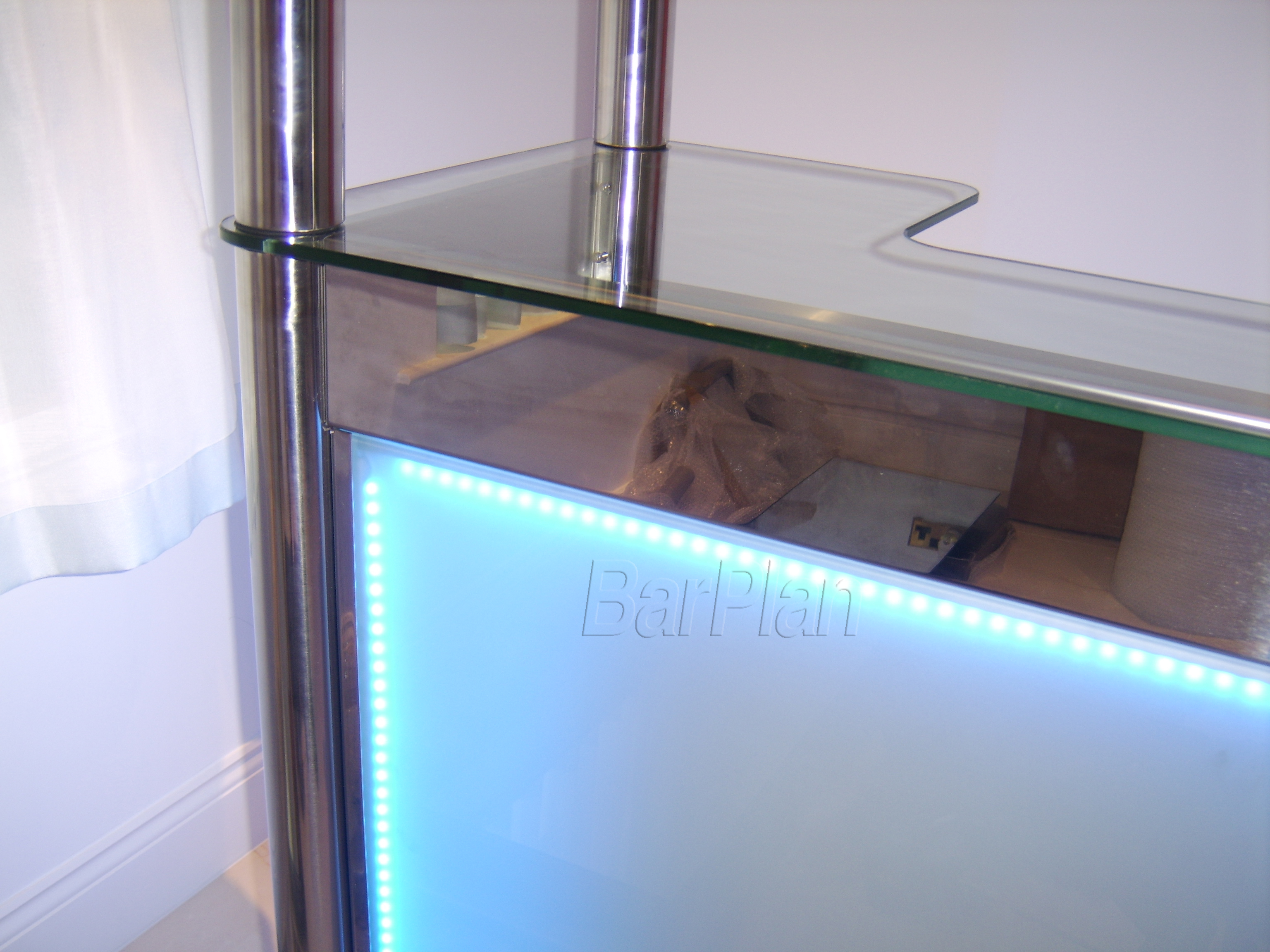 BarPlan Chroma Bar Ultimate Front LED and Glass