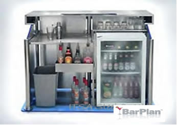 BarPlan Chroma Small Bar Rear